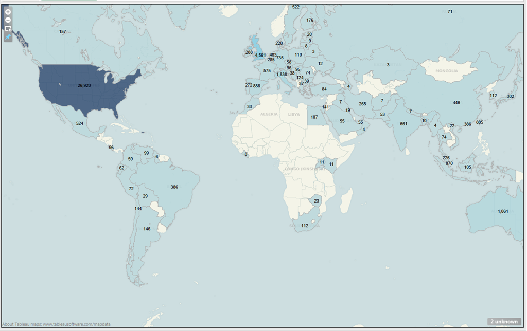 The First Million IDs on Twitter   Mapping Online Publics