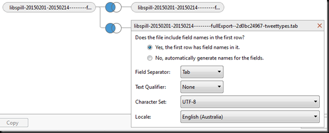 Using Gawk to Prepare TCAT Data for Tableau, Part 1